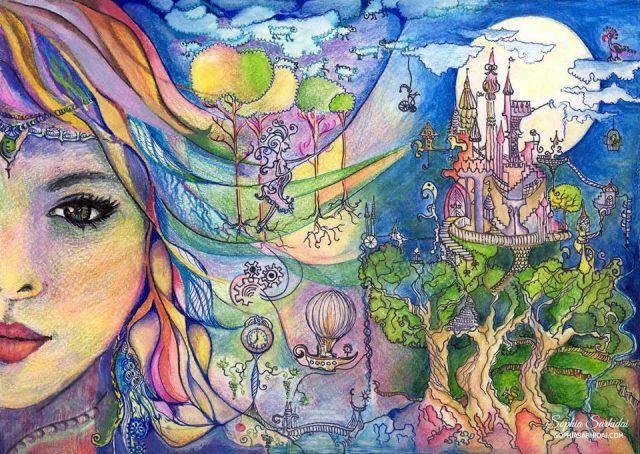 Sophia Sarhidai: Fairytale drawing