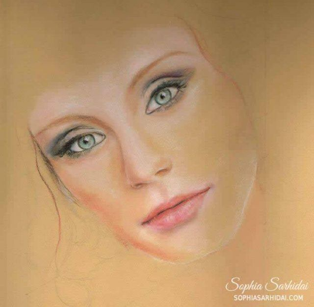 Sophia Sarhidai: Portrait drawing