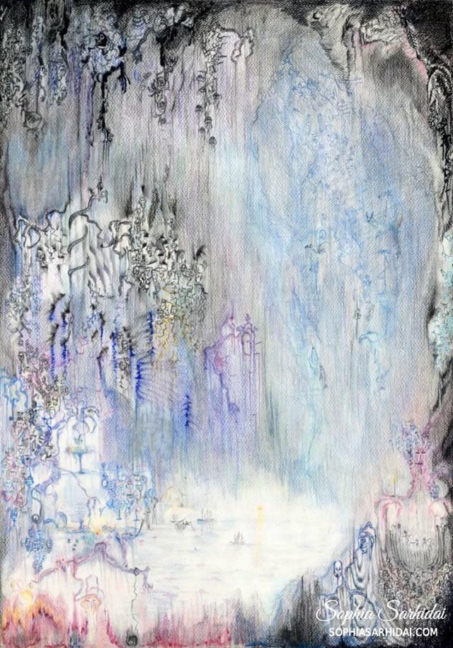Sophia Sarhidai: Fantasy world drawing