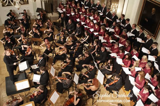 Sophia Sarhidai - I play the violin in orchestra.